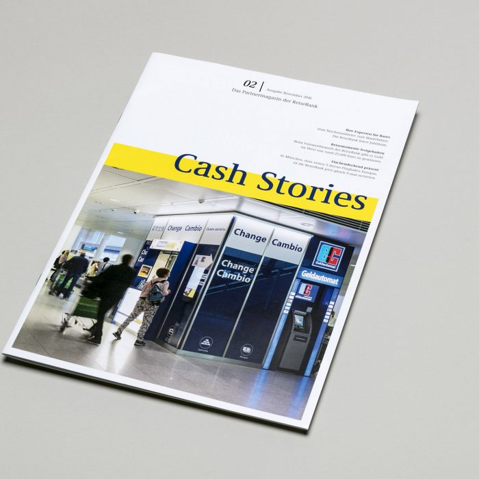 Cash Stories – BtoB-Kundenmagazin