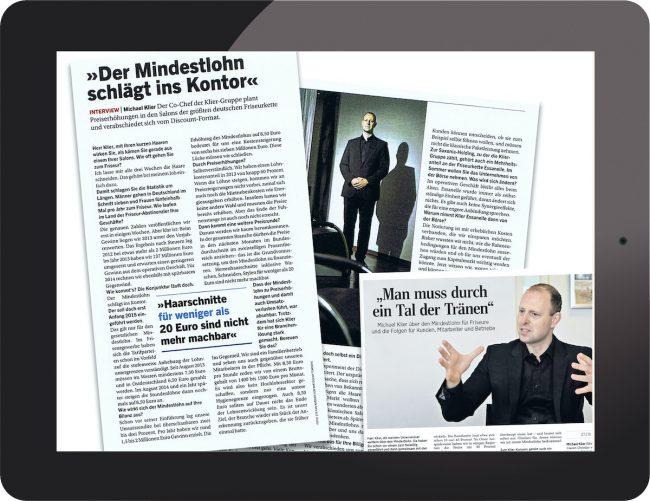 PR für Frisör Klier